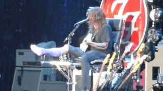 """Alone + Easy Target"" Foo Fighters@RFK Stadium Washington DC 7/4/15"