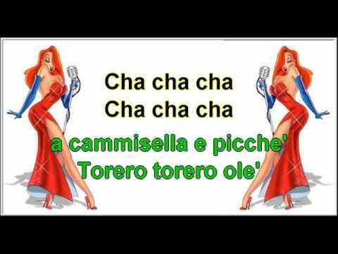 Torero Renato Carosone karaoke