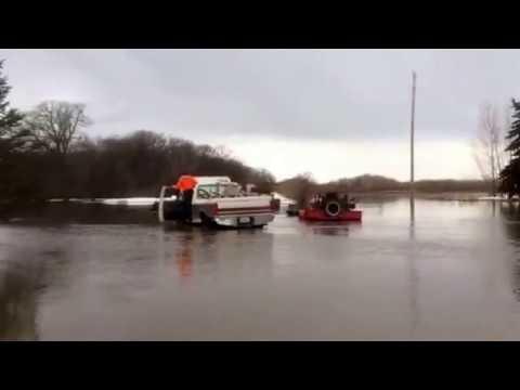 Major Flooding in NE North Dakota