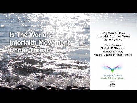 Brighton & Hove Interfaith Contact Group AGM - Satish K Sharma