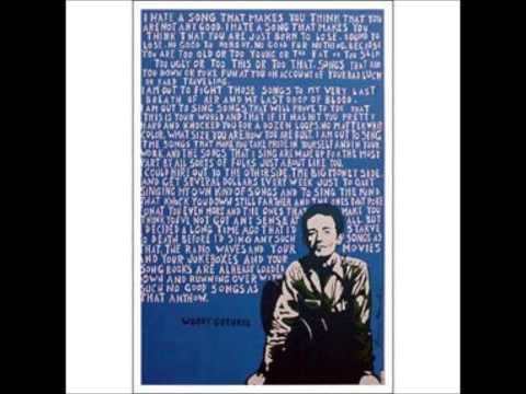 Woody Guthrie's I hate a  narration by Will Geer