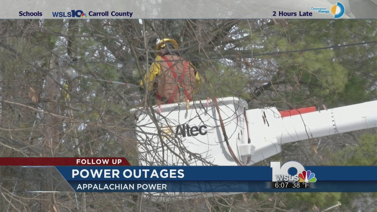 Power outage updates in Central Virginia