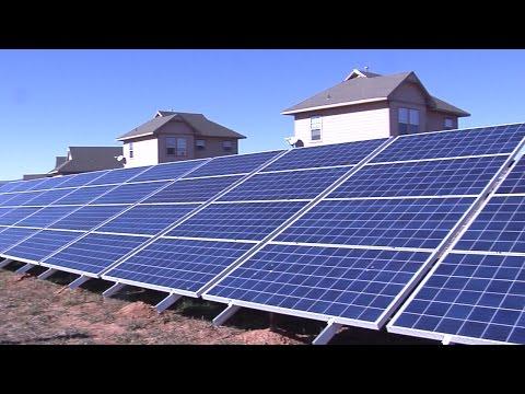 Solar Farm Serves 60 Homes