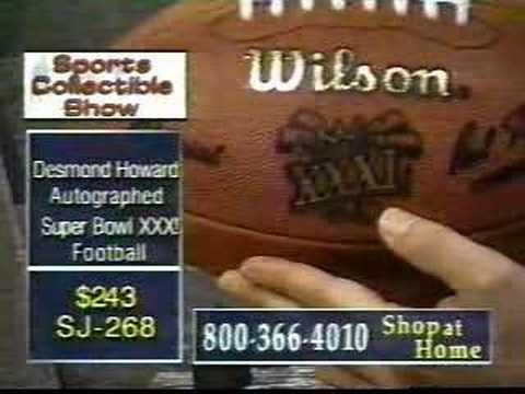 Don West - Desmond Howard Autographed Football, Part 1