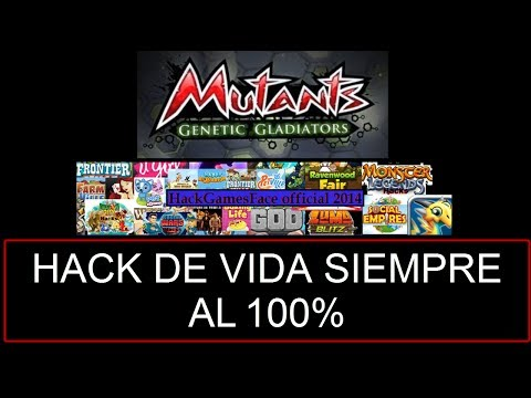 MUTANTS GENETIC GLADIATOR Truco de VIDA INFINITA | NO DAMAGE [2014 ...