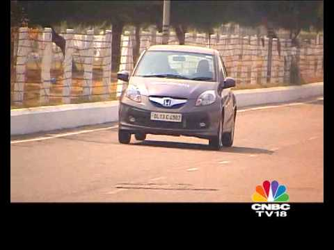 2012 Honda Brio automatic in India road test