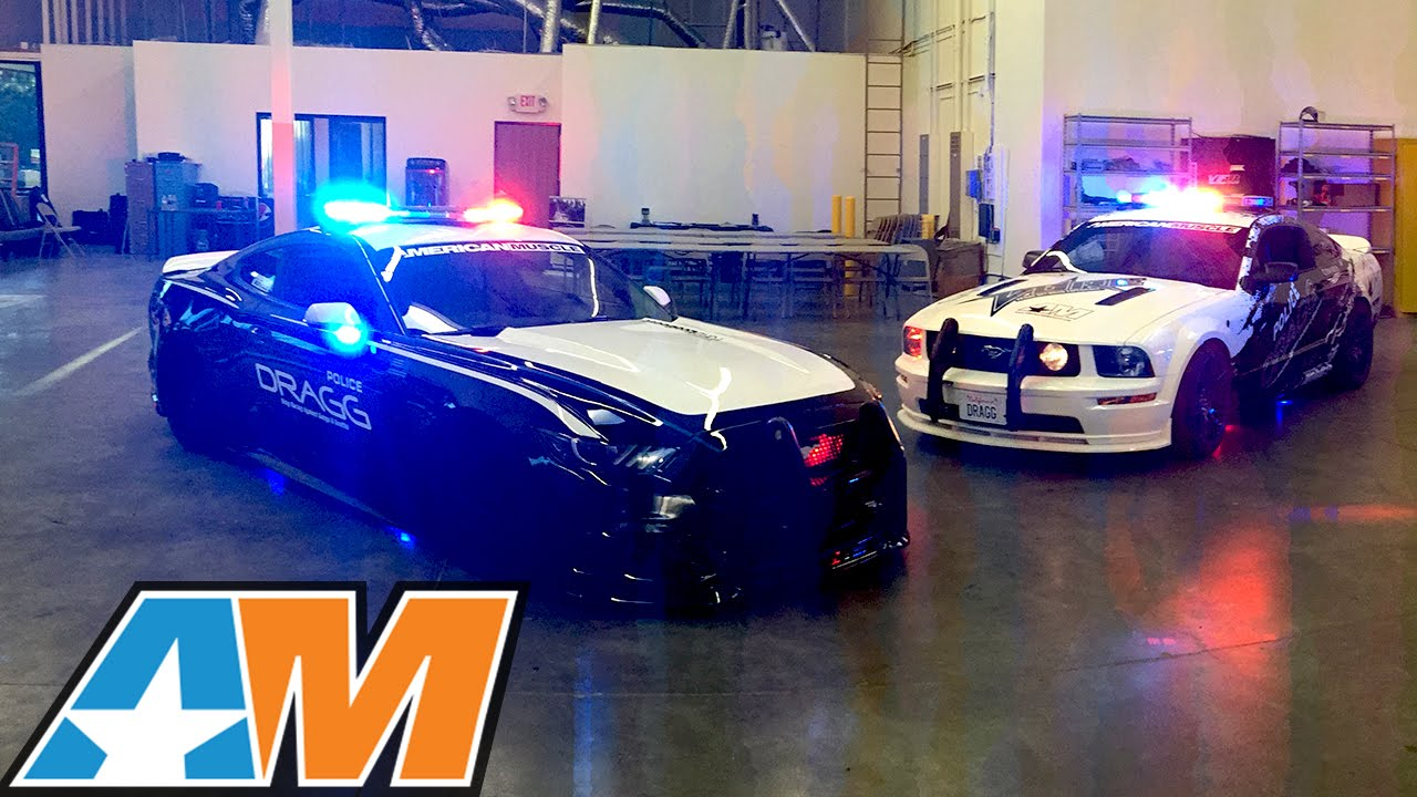 DRAGG Ford Mustang Cop Cars Built by Kids to Drag Race and Drift - YouTube & DRAGG: Ford Mustang Cop Cars Built by Kids to Drag Race and Drift ... markmcfarlin.com