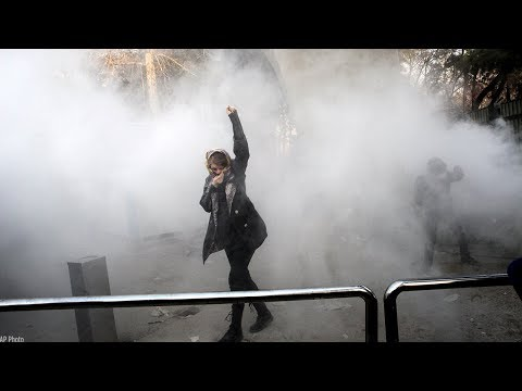New economic protests in Tehran challenge Iran's government