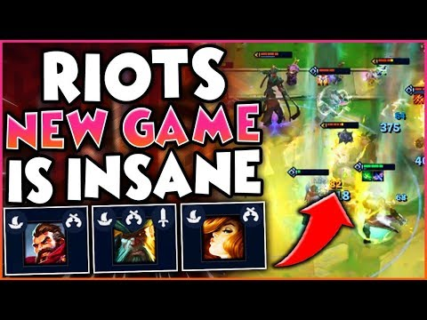 RIOT'S NEW GAMEMODE IS INSANE! | Pink Ward's First Game EVER! | TFT | TEAMFIGHT TACTICS