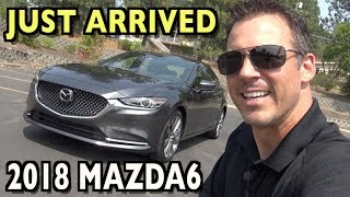 Wow, Just Arrived: 2018 Mazda6 on Everyman Driver
