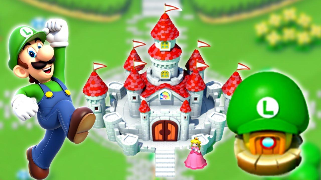 Super Mario Run Peach Cake