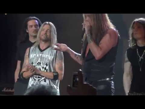 Sebastian Bach YOUTH GONE WILD  M3 Rock Festival 2014