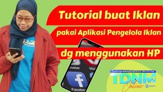 Tutorial cara buat iklan facebook pakai HP dg Aplikasi Pengelola Iklan screenshot 4