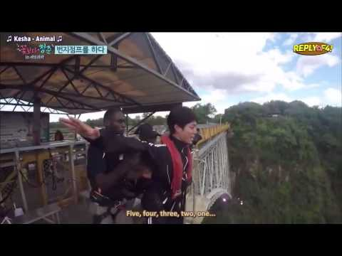 park bo gum buggee jumping : youth over flowers in africa