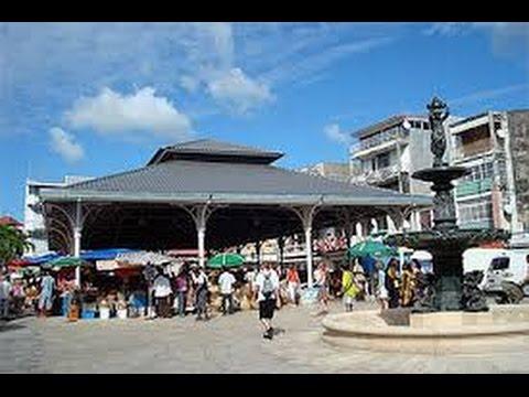 Antilles Guadeloupe la ville coloniale de Pointe a Pitre