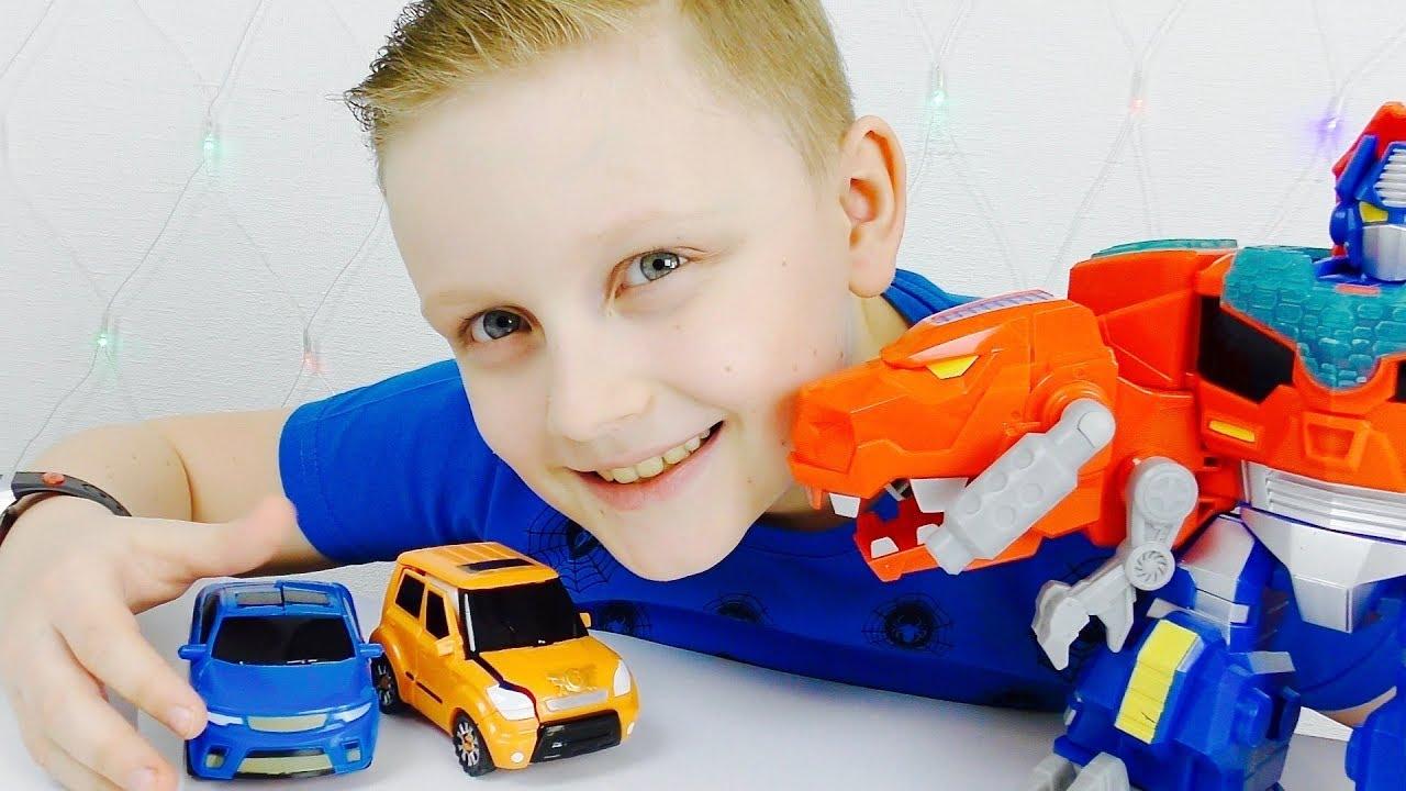 Трансформеры  Автоботы ОПТИМУС и ТОБОТ Проспали  50000 Машинки для мальчиков из Мультика для детей