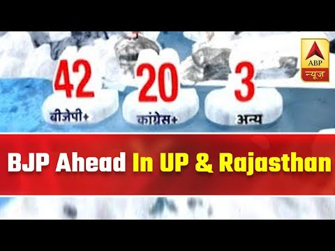 LS Election 2019: BJP Ahead In UP & Rajasthan According To Latest Trends | ABP News