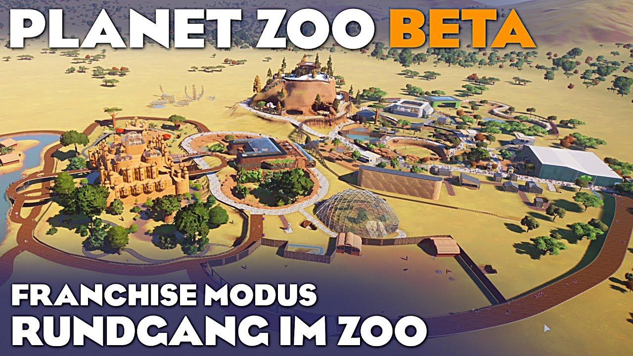 PLANET ZOO GROßE ZOO TOUR Planet Zoo Deutsch German Gameplay #57