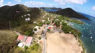 Coral Bay, St. John Aerial Video Flight