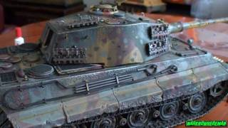 German KING TIGER 1:16 scale full metal DIECAST model (Limited Edition)