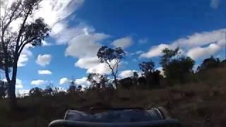 Rassemblement bétails moto Australie !