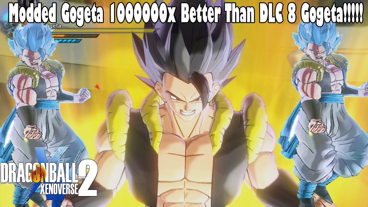 Must Watch Xenoverse 2 Gogeta Blue Mod That We All Wanted For Dlc Pack 8 So Much Better Than Dlc 8