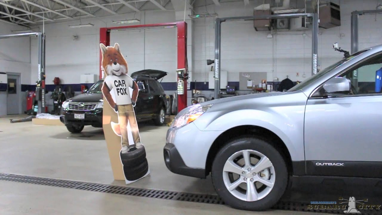 Subaru City Milwaukee >> Subaru EyeSight Technology Saves Cardboard Lives - YouTube