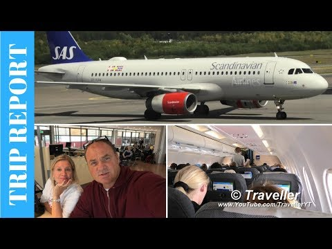 TRIP REPORT | Scandinavian Airlines Economy Airbus A320 | Stockholm to Copenhagen | Travel Vlog
