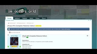 Complete Pokemon Editor (CPE) Tutorial auf GBA () Folge 4 () von #Stummgame