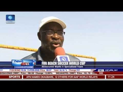 FIFA Beach Soccer: World Cup Sand Eagles Leave For Bahamas