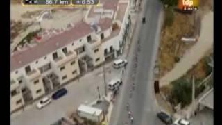 1º paso de la vuelta ciclista a España por Tíjola (11-9-09)