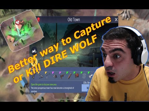 Found A Better Way To Kill Or Capture Dire Wolf - Wasteland Survival