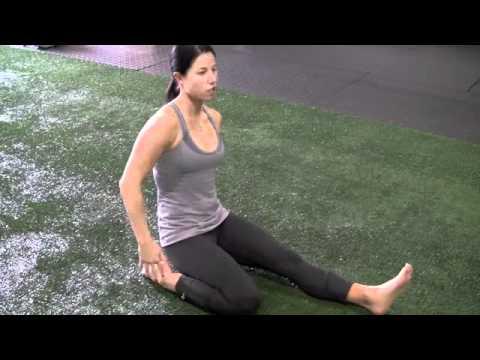 Thai Yoga Stretching Exercise, How to Stretch Quadriceps for Flexibility