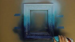 Painting Ideas: Ombré Spray Painting