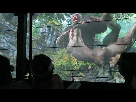 КИНГ-КОНГ (King Kong) невероятный аттракцион UNIVERSAL STUDIOS смотреть онлайн