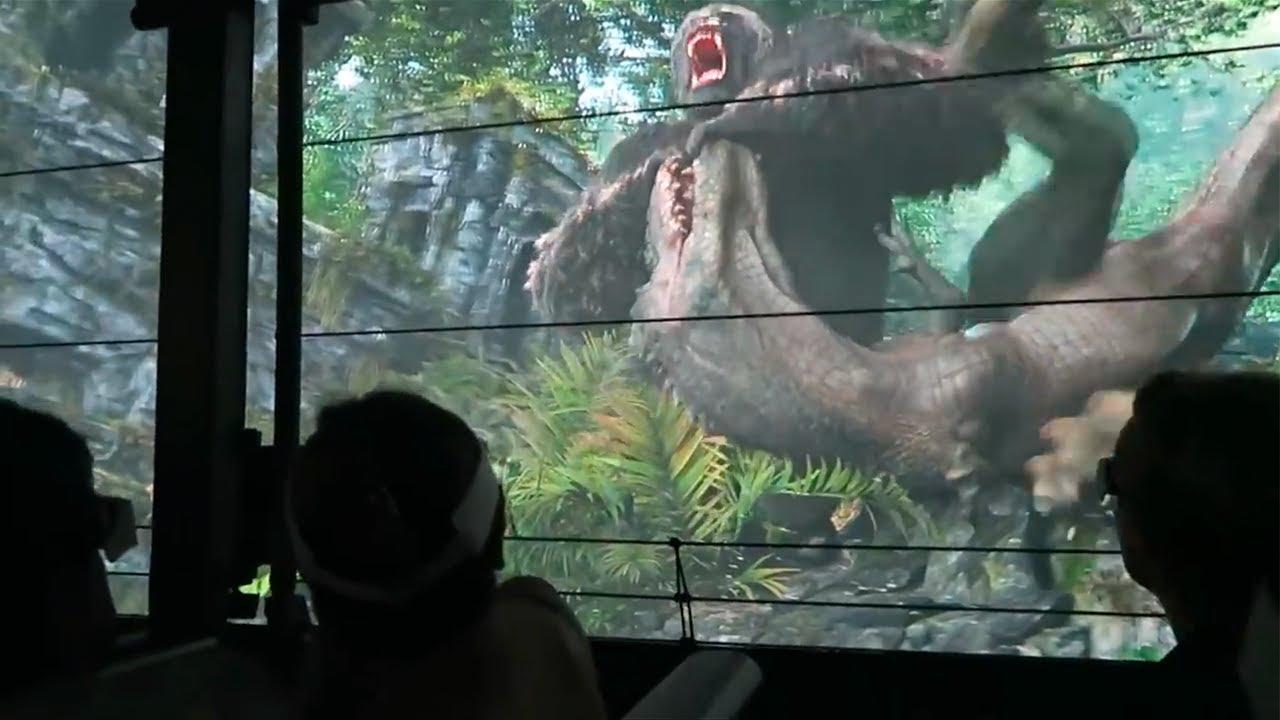 แหล่งท่องเที่ยว โชว์คิงคอง ไดโนเสาร์ КИНГ-КОНГ (King Kong) невероятный аттракцион UNIVERSAL STUDIOS