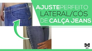 Dicas de Costura – Ajuste de Cós e Lateral (Calça Jeans)