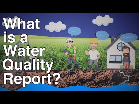 BGJWSC - What Is A Water Quality Report?
