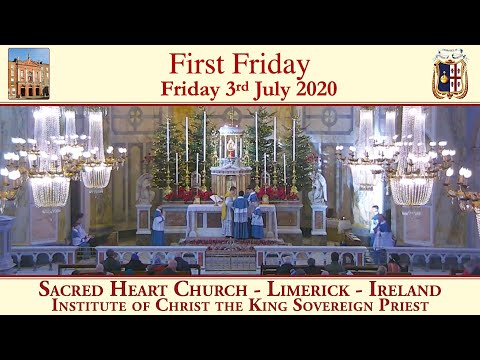 3rd July 2020 - First Friday - Low Mass