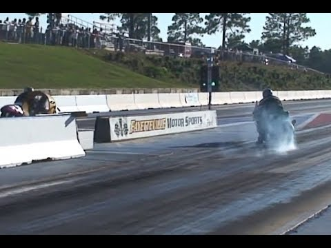Emerson's LET OFF THE GAS PASS ZX10 Drag Race In Fayetteville