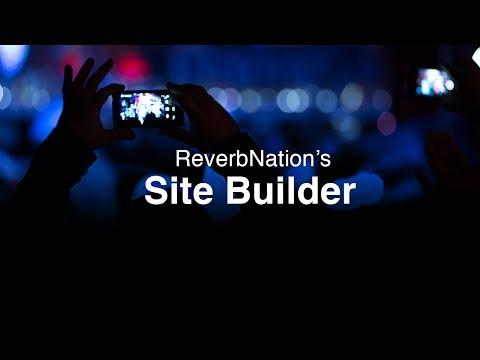 ReverbNation Sitebuilder | Websites For Artists & Musicians