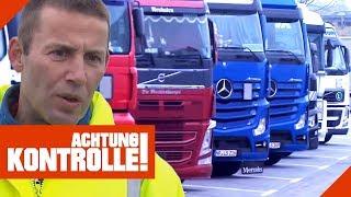 Parkplatzmangel & Wildpinkler: Autohof-Hausmeister auf der Autobahn! | Achtung Kontrolle