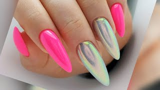 Летний Маникюр 2021 Идеи Дизайна Ногтей на короткие и длинные ногти Фото Новинки Nail Art