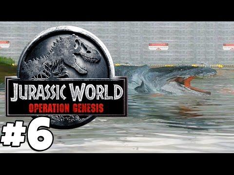 Jurassic Park: Operation Genesis   MOSASAURUS (Playthrough Part 6)