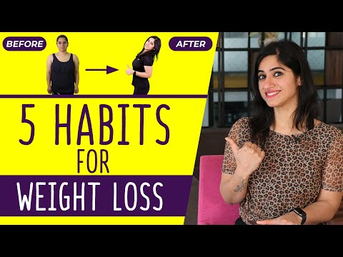 5 Most Easy Weight Loss Habits (in Hindi) | GunjanShouts