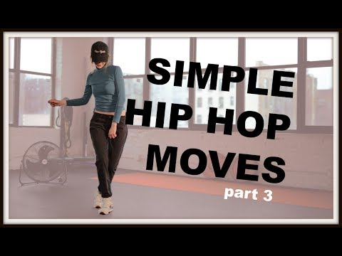 Simple Hip Hop Moves For Beginners part 3 I  Club Dance Tutorial