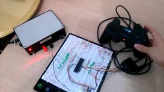 PIC18F4431 + controle de PS2