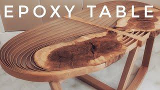 AMAZING EPOXY TABLE - LuNGS | СТОЛ ИЗ ЭПОКСИДНОЙ СМОЛЫ.