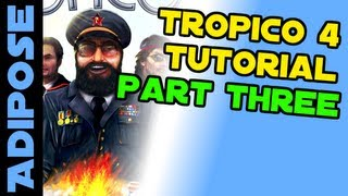 Tropico 4 Guide. Part three. Tips and Tricks for being the best El Presidente!