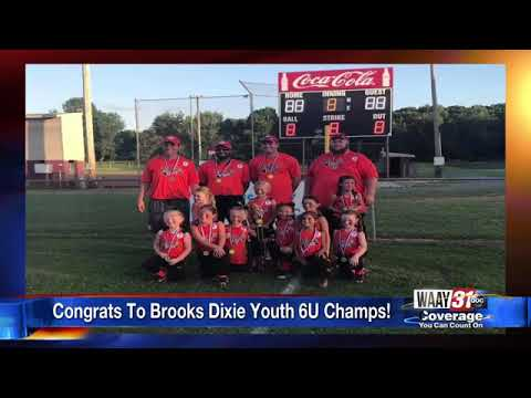Dixie Youth softball team competing in World Series